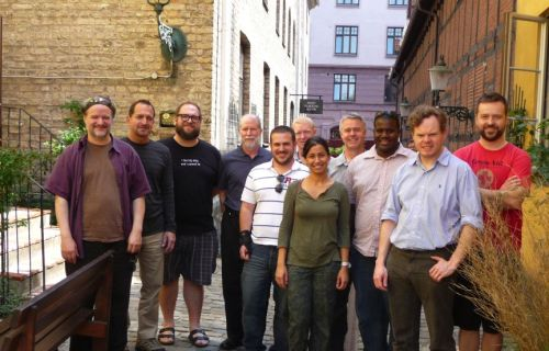 Attendees of WOPR22 in Malmö, Sweden.